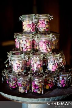 cute wedding favors, if we don't do a full candy bar