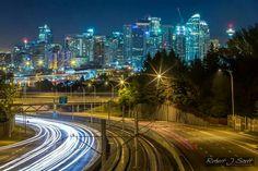 Calgary at night...Robert Scott