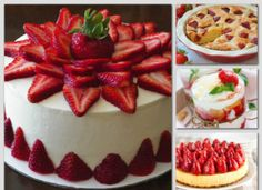Cheesecake, Strawberry, Pudding, Fruit, Desserts, Food, Tailgate Desserts, Deserts, Cheesecakes