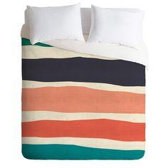 Zoe Wodarz Paper Stripe Duvet Cover | DENY Designs Home Accessories