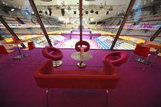 Salon - Coupe du monde de Badminton 2010 - Stade Pierre de Coubertin
