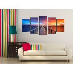 "Art Quality Canvas Print Gatlinberg Fall At The Village Home Wall Decor 16/""x20/"""