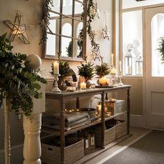 Ten Country Christmas Hallway Ideas | Modern Country Style | Bloglovin'