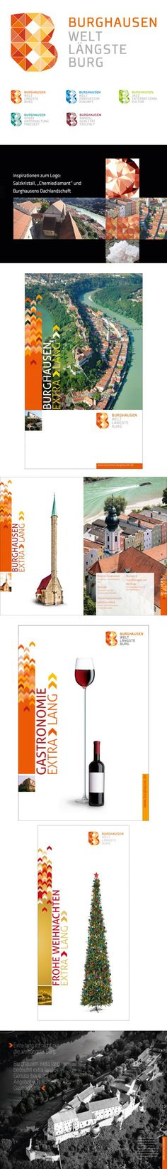 Identity for Burghauser, Germany, by Matern Creativbuero #city_brand