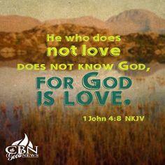 REDE MISSIONÁRIA: GOD IS LOVE (1 JOHN 4:8)