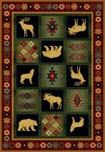 Dakota Natural Lodge Rug  Collection