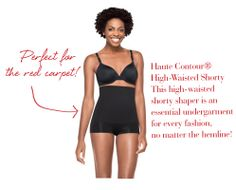 Spanx Haute Contour High-Waisted Shorty is perfect under your best dress!