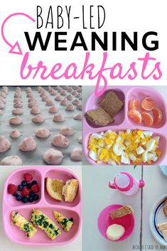 Baby-Led Weaning Breakfast Ideas - Baby recipes - You are in the right place about homemade baby foods for 1 year old Here we offer you the most bea - Baby Led Weaning 7 Months, Baby Led Weaning First Foods, Weaning Foods, Baby First Foods, Baby Finger Foods, Baby Weaning Recipes 6 Months, Baby Led Weaning Lunch Ideas, Baby Led Weaning Breakfast, Baby Breakfast
