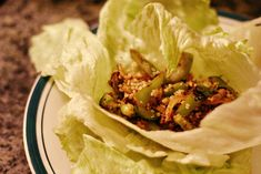 Daniel Fast Lettuce Wraps idea..be mindful of the ingredients used for an accurate Daniel fast meal