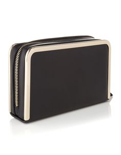Keep it simple and sleek with this mono clutch, £25.