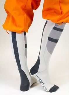 ThinkGeek :: Portal 2 Socks  Why do these come out AFTER my birthday!