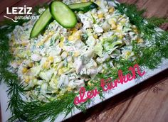 Fantastic Chicken Salad (Day Salad) - My Delicious Food - Internationally Inspired Chicken Salad, Cobb Salad, Stew, Potato Salad, Food And Drink, Rice, Yummy Food, Meals, Vegetables