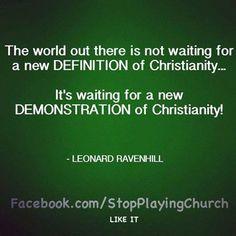 Leonard Ravenhill via StopPlayingChurch #Christianity #Christian