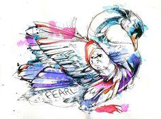 Various Birds & Watercolors of 2013 on Behance