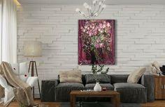 Still Life Wall Art-Roses-Flowers Oil Painting On от InnaShirokova