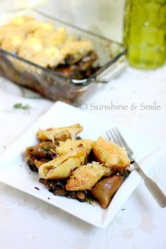 Taste Junction: Guest Post by Sunshine & Smile: Stuffed Jumbo Shells