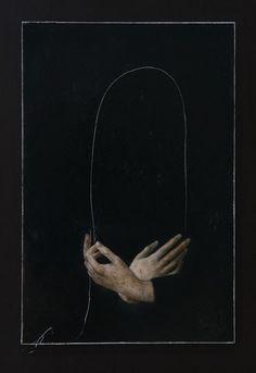 Nicola Samorì - In principio era la fine, 2016 Olio su tavola Les Fables, Arte Obscura, Ex Machina, Arte Horror, Aesthetic Art, Character Aesthetic, Oeuvre D'art, Dark Art, Art Inspo