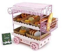 Mother Garden Bread Trolley 面包购物车