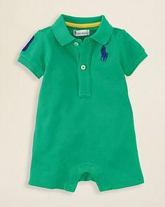 Ralph Lauren Childrenswear Infant Boys' USA Shortall - Sizes 3-9 Months   Bloomingdale's