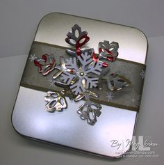Snowflake made out of diet coke can