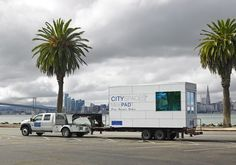 MicroPAD: Tiny Mobile Units Aim to End Homelessness in San... #weburbanist #arts #street_art