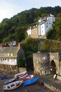 The Harbour Clovelly, North Devon, England