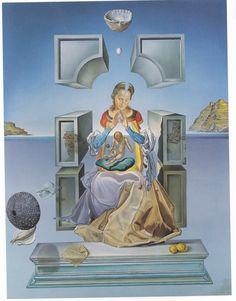 madonna salvador dali - Salvador Dali Lebenslauf