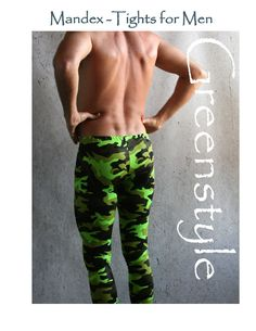 MAKES AWESOME LONG UNDERWEAR!!! GreenStyle Mandex PDF Sewing Pattern- Tights for Men sizes S-XXXL – GreenStyleCreations