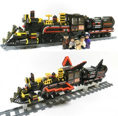 Back To The Future III's Time-Traveling Train LEGO Set