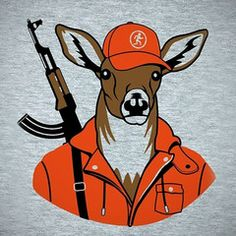 Image result for orange hunting gear funny