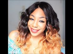Hair | Spring Waves & Sexy Ombres - YouTube
