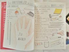 El libro Arte deja tus huellas de Marion Deuchars es un manual de cómo hacer miles de dibujos con tus huellas y un poco de imaginación.