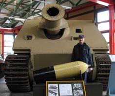 Sturmtiger and its rocket shell