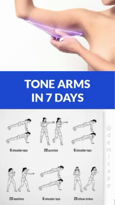 Arms In 7 Days Tone Arms In 7 Days! Get Ultimate Meal & Workout Plan!, - -Tone Arms In 7 Days Tone Arms In 7 Days! Get Ultimate Meal & Workout Plan!, - - 5 exercises t. 7 Day Workout Plan, Workout Routines For Women, Fitness Workout For Women, Fitness Workouts, Workout Challenge, Easy Workouts, At Home Workouts, Workout Plans, Slim Arms Workout