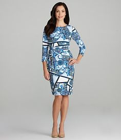 Blue Myriad Dress