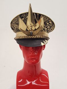 The Pharaoh by: fancy VANDALS - Burning man hat -festival fashion - costume