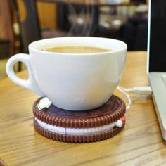 OREO SHAPE USB CUP WARMER - straplinebd.com