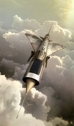 """English Electric Lightning by Phil Palmer.  My mum used to call Lightnings """"her friends"""" as they scared her half to death as they flew low over the house at RAF Akrotiri."""