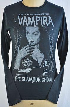 NEED!!!! Vampira long sleeved cotton jersey