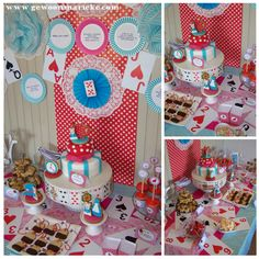 alice in wonderland themed birthday party