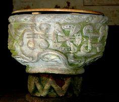 06.095.0723.07855.28639.6159 Baptismal font of Holy Trinity, Holdgate