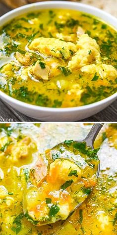 Indulge your cold weather cravings this season with a warm bowl of homemade Chicken and Cheese Dumpling Soup. The dumplings are amazing! FOLLOW Cooktoria for more deliciousness! If you try my recipes - share photos with me, I ALWAYS check! Dumplings For Soup, My Recipes, Cravings, Thats Not My, Homemade, Chicken, Home Made, Diy Crafts, Do It Yourself