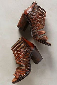 Anthropologie Shoes.  Lovely with a summer dress, jeans or cream/beige/camel coloured long pants.