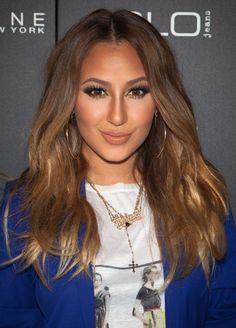 adrienne bailon hair color | ... of Adrienne Bailon Brown Long Hairstyles - Wiki: Adrienne Bailon