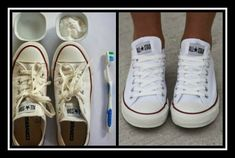 Chuck Taylor Sneakers, Chuck Taylors, Cleaning Hacks, Household Tips, Shoes, Funny, Fashion, Moda, Zapatos