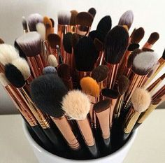 Every girls dream. #makeup #brushes #dream