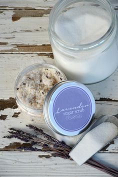Make your own sugar scrub with this easy tutorial