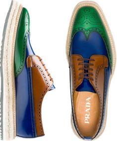 Men's fashion - Prada shoes by lorene Prada Shoes, Men's Shoes, Shoe Boots, Dress Shoes, Shoes Men, Woman Shoes, Fashion Shoes, Mens Fashion, Fashion Rings