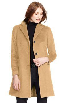 Lauren Ralph Lauren Wool Blend Reefer Coat | Nordstrom