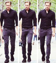 Alexander Skarsgård - tall, handsome, and in his 30's... just like I like 'em.